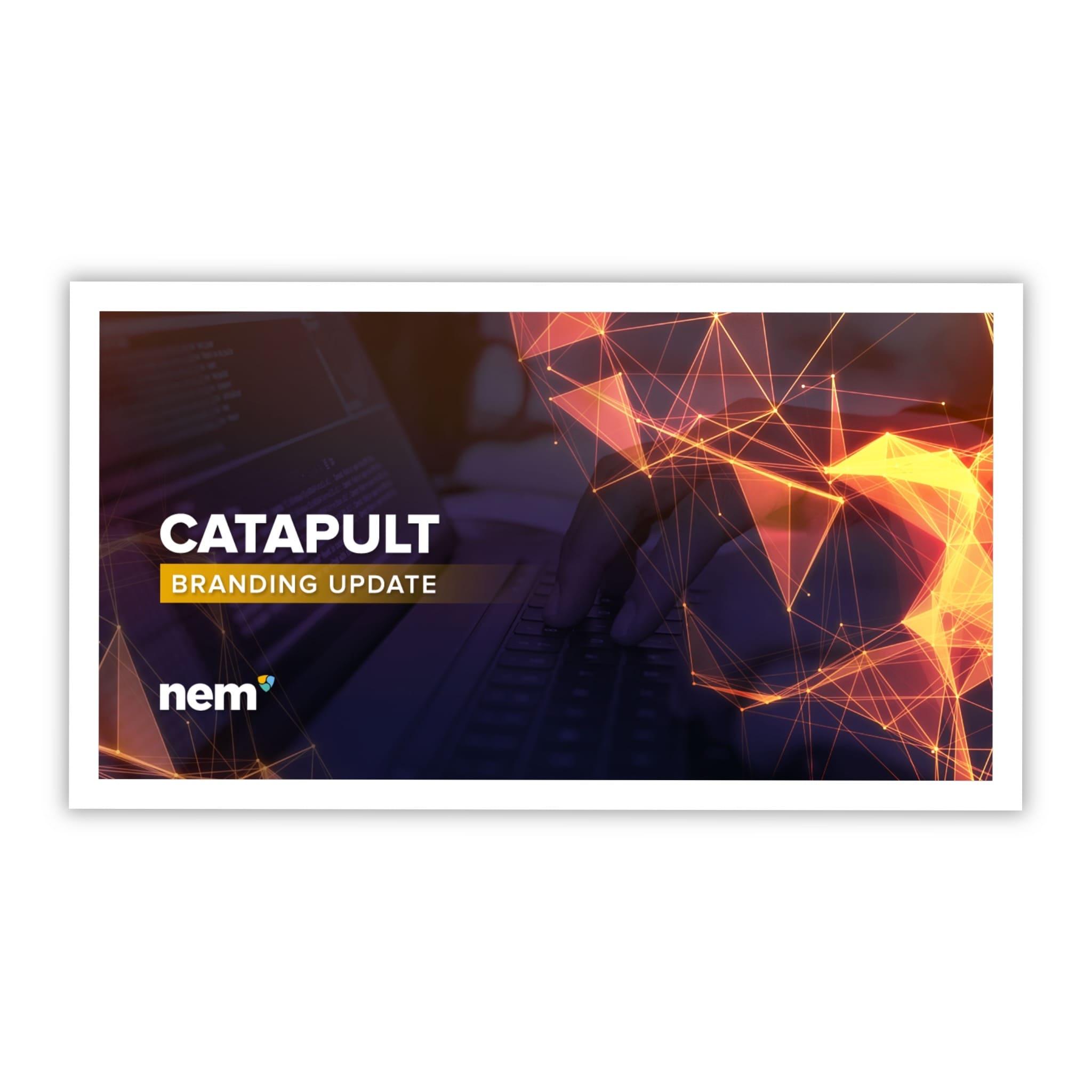 Обновление Бренда Катапульт (Catapult) #2